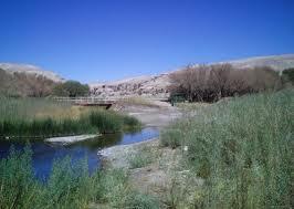caudal río